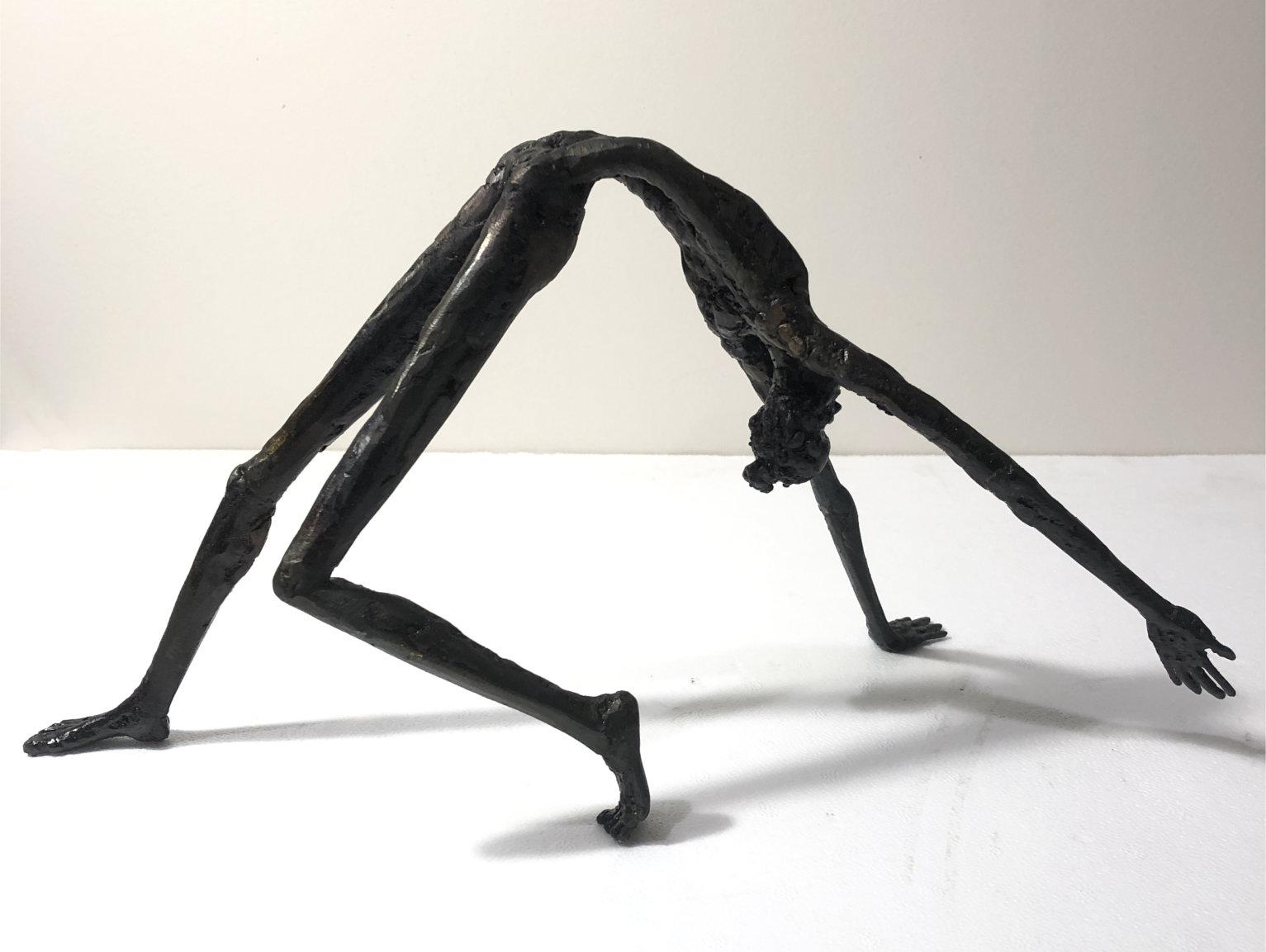 Steel sculpture by Tony O'Keefe. New Zealand artist.